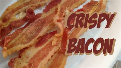Crispy Bacon how to make crispy bacon in microwave with no crisp plate no mess no smell fastmicrowave