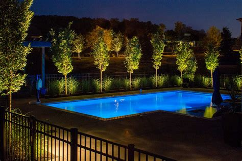 outdoor pool lighting around pool lighting gallery and outdoor in nashville tn