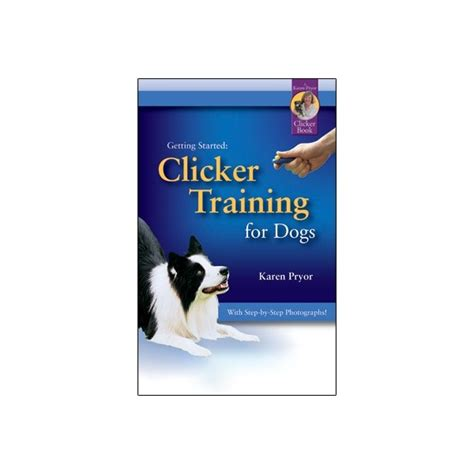 clicker puppy getting started clicker for dogs book