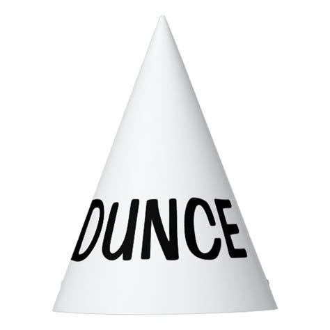dunce hat template dunce hat diy custom hats zazzle