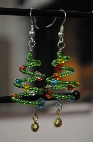 pin by donna ewing on christmas pinterest christmas tree earrings so cute by emilymbongoriginals on