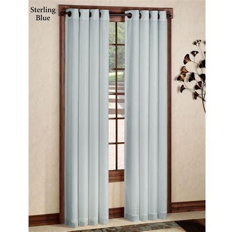 curtain gromets rhapsody thermavoile tm grommet curtain panels