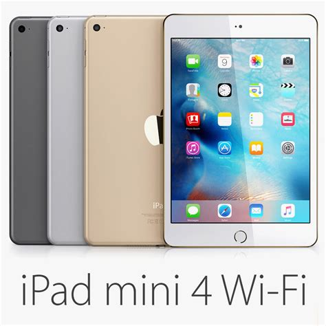 Mini 1 Wifi Only mini 4 wi fi 3d lwo