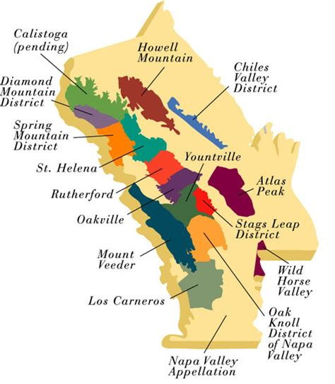 map of napa valley maps