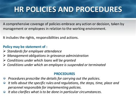 ch2 human resource policies and strategies