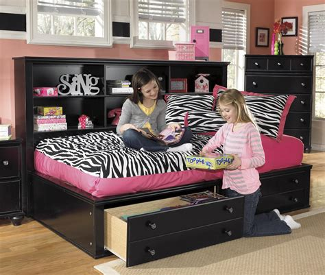 furniture jaidyn bookcase bed signature design by jaidyn bookcase bed with