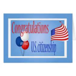 congratulations us citizenship us flag greeting card zazzle