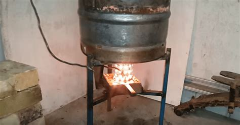 waste oil burning heater for garage find out how this diy waste oil burner work its