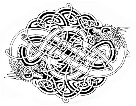 Pyrography & Patterns on Pinterest   Celtic Knot, Celtic Designs and Celtic Art