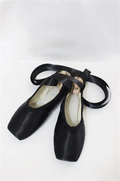black ballet shoes for black pointe shoes ebay