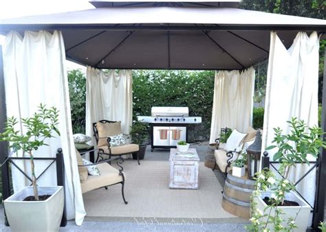 metal gazebo with curtains backyard metal gazebo with white curtains useful outdoor
