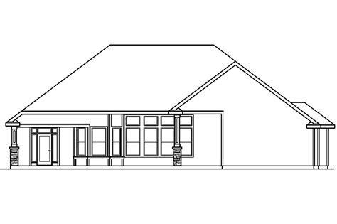 view lot house plans ranch house plans rosemont 30 376 associated designs