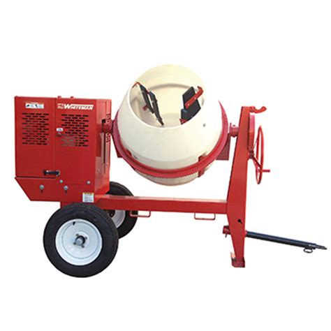 gas towable cement mixer rental the home depot