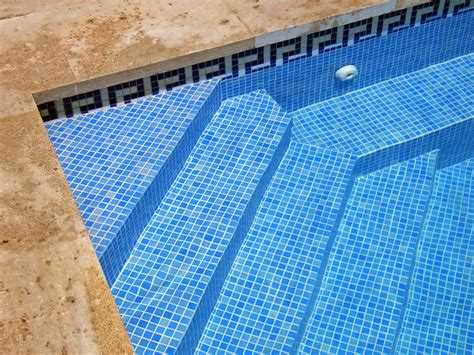 mosaic key pattern swimming pool greek key mosaic tile