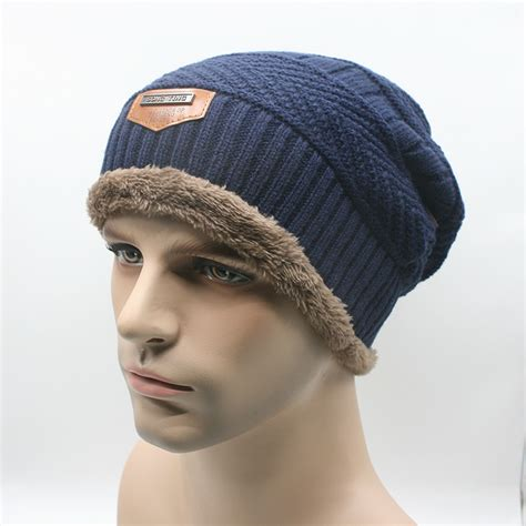 Kupluk O kupluk wool winter hat beanie blue jakartanotebook