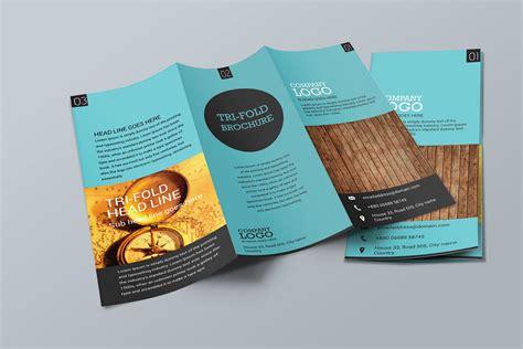 free tri fold brochure templates blank printables