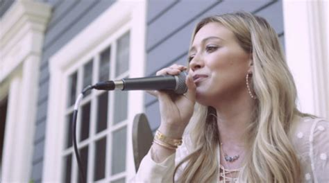 tattoo song lyrics hilary duff hilary duff wows vocally with tattoo acoustic
