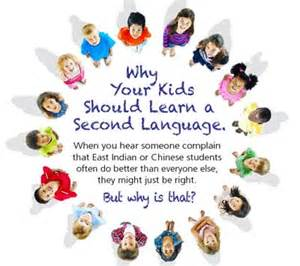Preschool Education And by Why Your Should Learn A Second Language Early Childhood Education Zone