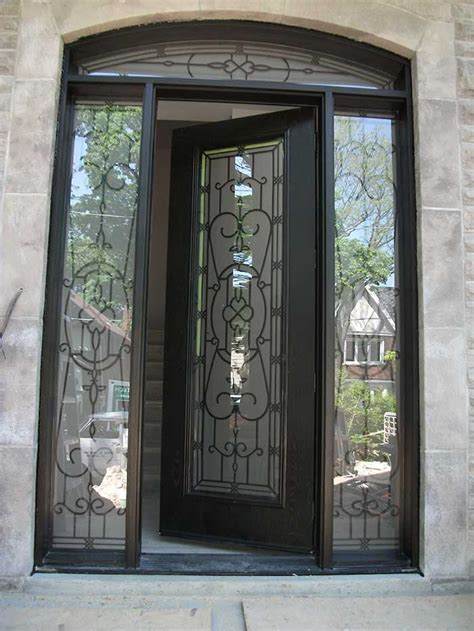 Single Glass Exterior Door Woodgrain Exterior Doors Woodgrain Doors Front Entry Doors Wood Grain Doors Single Fiberglass
