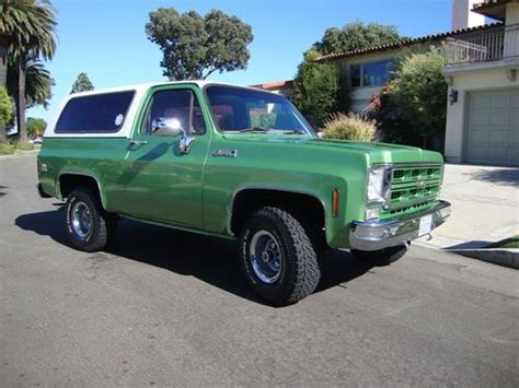 1976 gmc jimmy for sale purchase used 1976 gmc jimmy high sport utility 2
