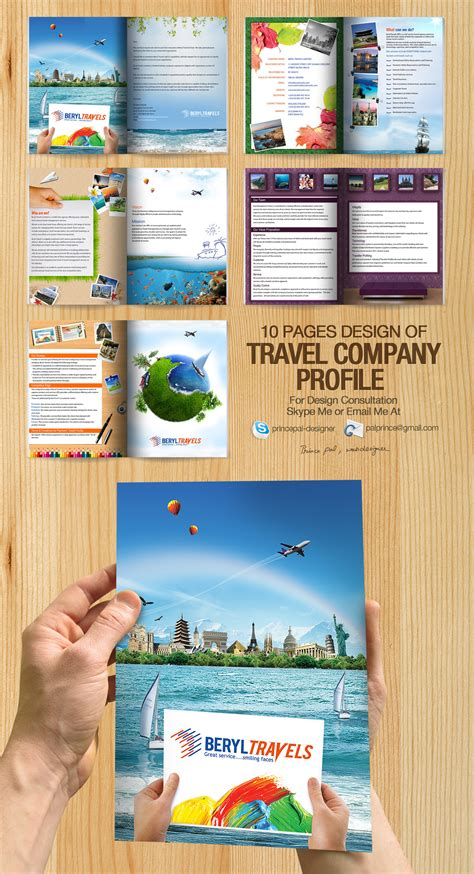 creative company profile layout pdf travel company profile pdf by princepal on deviantart