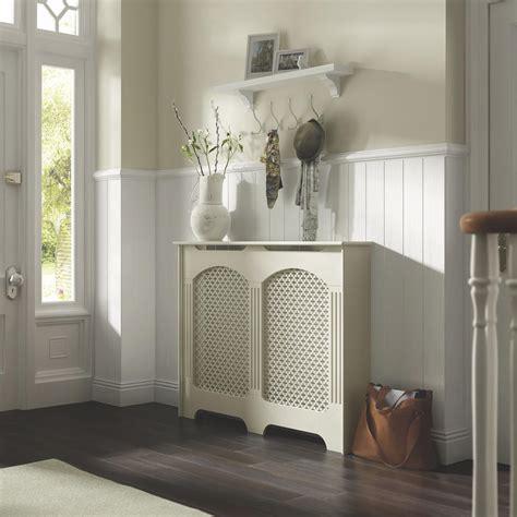 Decorating Ideas Cambridge Medium White Painted Radiator Cover