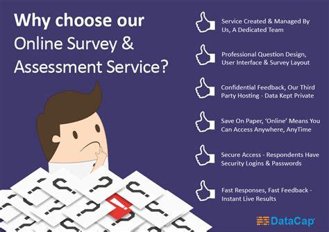 Online Survey Services - online survey assessment services datacap computer solutions limited 迪恒電腦