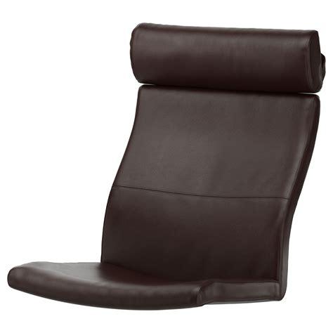 armchair cushion po 196 ng armchair cushion glose dark brown ikea