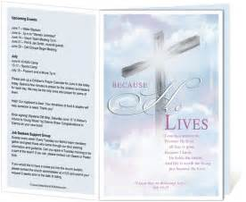free bulletin template 14 best images about printable church bulletins on