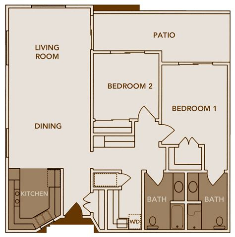 2 bed 2 bath house 100 bath house floor plans 100 split floor plan