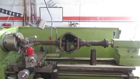 44 warped axle