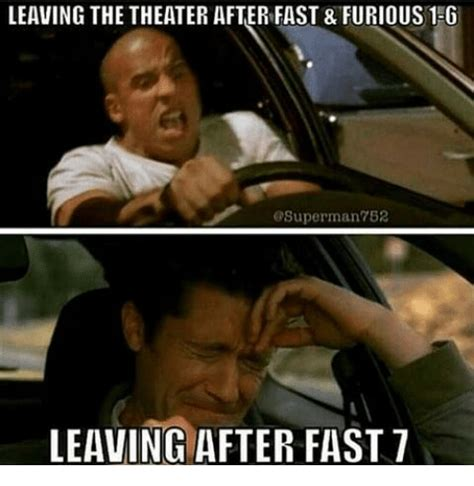 leaving the theater after fast furious 1 g superman 752