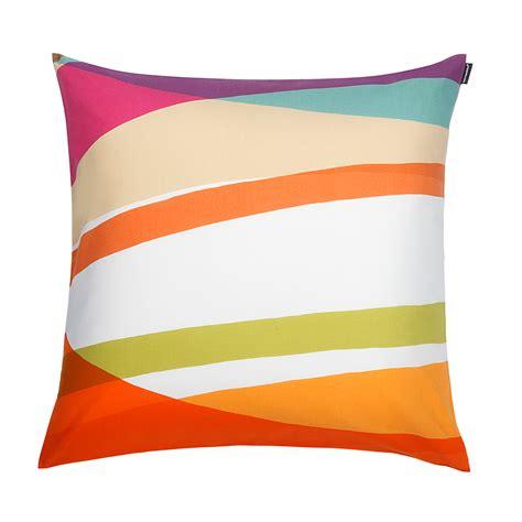 Marimekko Pillows Sale by Marimekko Suisto Multicolor Pillow Marimekko Fabric
