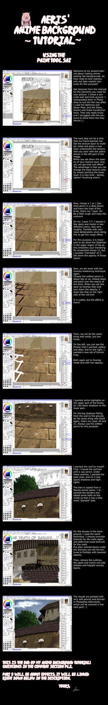 paint tool sai tutorial background sai anime background tutorial by aeris85 on deviantart