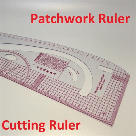Patchwork Ruler - multifunctional patchwork ruler plastic cutting ruler
