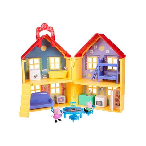 Peppa Pig House Playset by A Merry Peppa Pig Review Eighty Mph Oregon