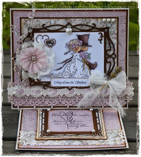 Wedding Album Easel by Wedding Easel Card By Lena Pulceras Dijes Y