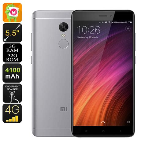 New Xiaomi Redmi Note 4x 3 16 Grey Garansi Distributor 1 Tahun wholesale android phone xiaomi redmi note 4x from china
