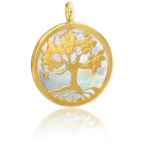 Kaos Islami By De Lavi Outlet m 233 daille arbre de vie 2 ors 9k et nacre blanche ocarat
