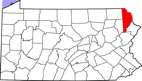 file map of pennsylvania highlighting clinton county svg file map of pennsylvania highlighting wayne county svg facts for kidzsearch