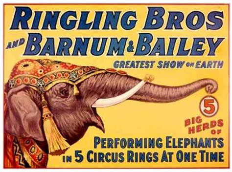 Barnes And Bailey Circus by Ringling Bros And Barnum Bailey Circus