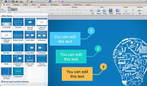 powerpoint templates for mac 2011 how to change slide layout in powerpoint for mac