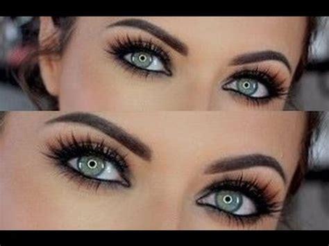 imagenes de ojos ahumados maquillaje ojos ahumados youtube