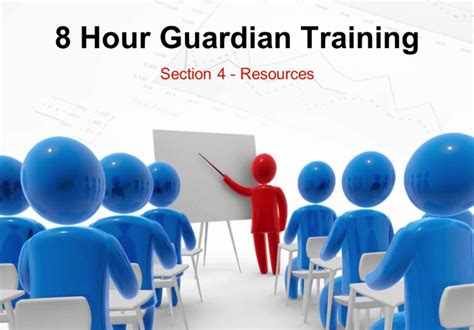 Section 8 Hours by 8 Hour Guardianship Course Osterhout Mckinney P A