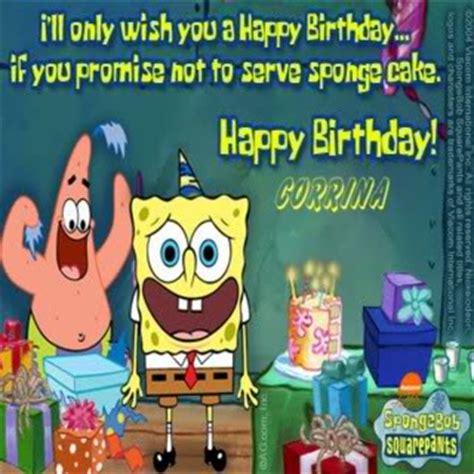 Spongebob Birthday Quotes Spongebob Birthday Quotes Quotesgram