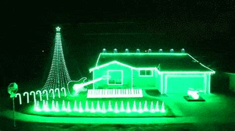 level christmas lights video star wars themed light show and other people who