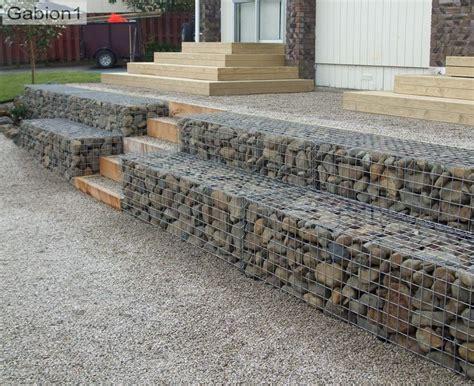 best 25 gabion retaining wall ideas on gabion