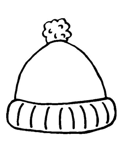 winter cap coloring page omalov 225 nky zimn 237 sporty i creative cz inspirace
