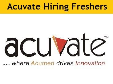 Walkins In Bangalore For Mba Freshers Tomorrow by Acuvate Software Walkin Recruitment For 2016 15 14