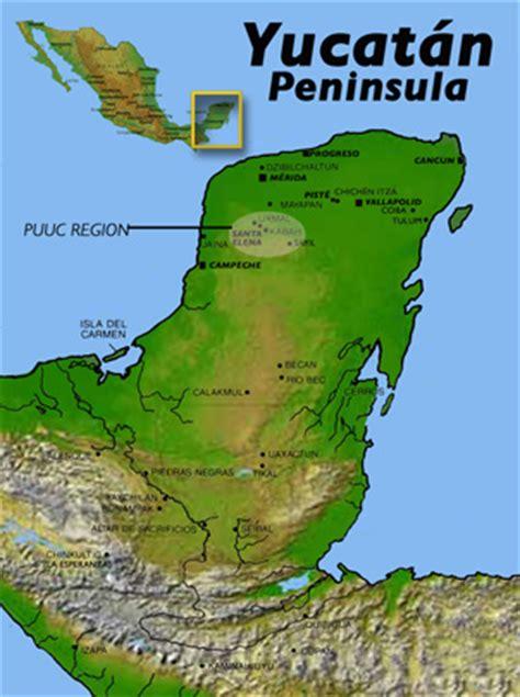 map of mexico yucatan peninsula crafting identity northern illinois